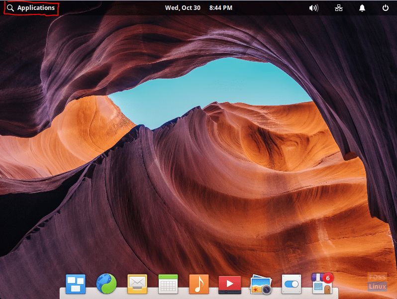 Open Applications From The Elementary Desktop