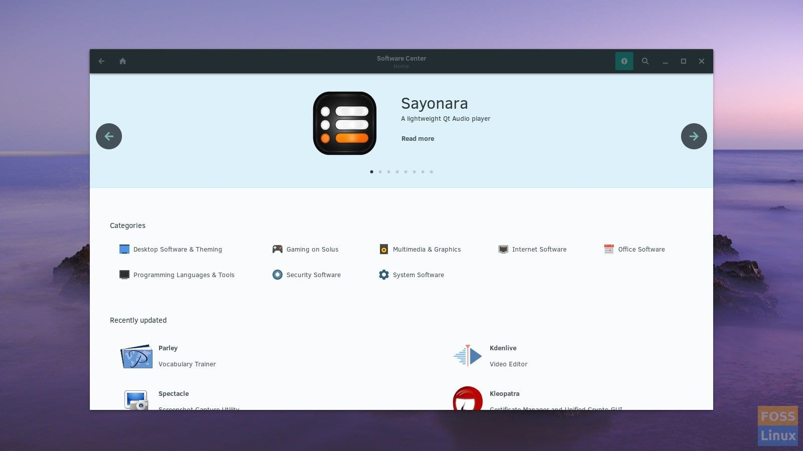 Upcoming Redesigned Solus Software Center