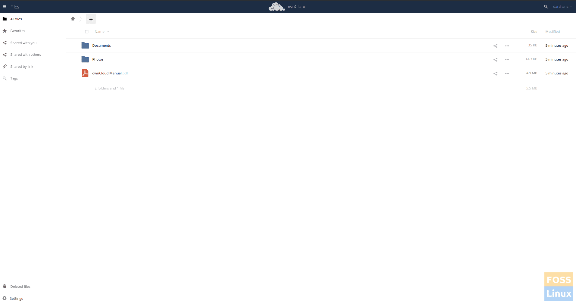 Owncloud-Files-and-Folders