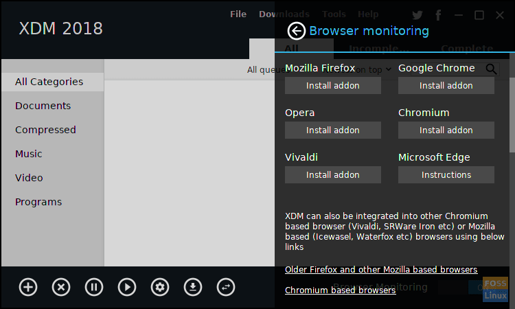XDM browser support