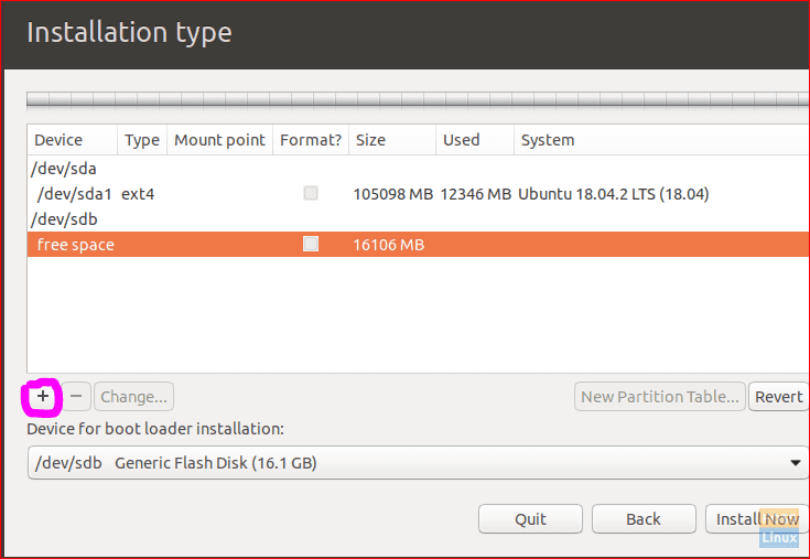 Add New Partitions
