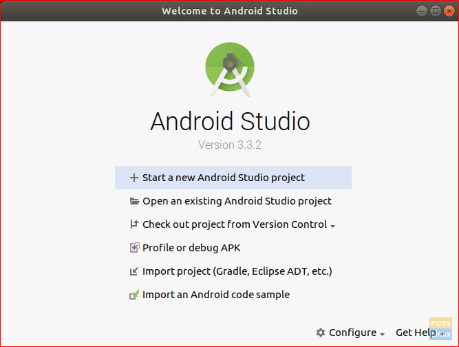 Start New Android Project