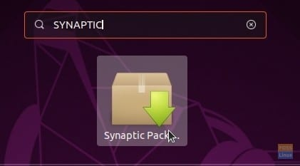 Launch Synaptic
