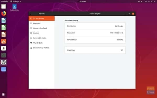 Ubuntu Screenshot