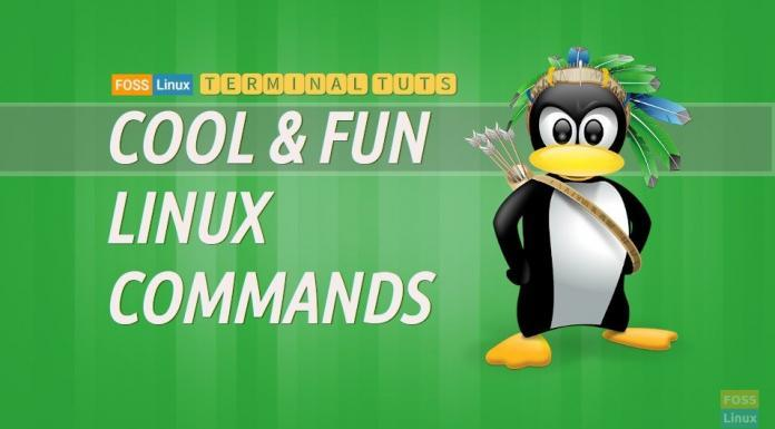 cool and fun linux commands