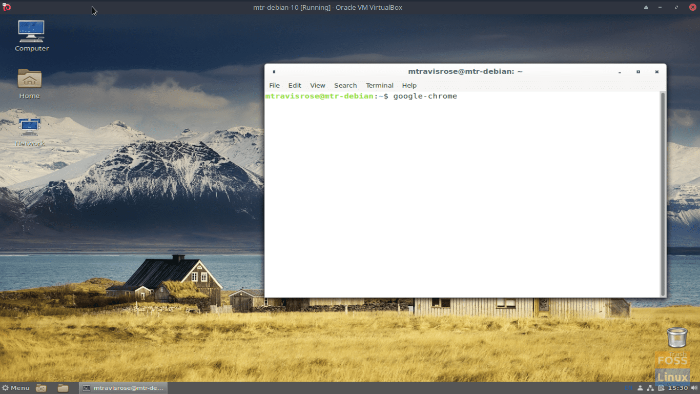 Launch Chrome from the CLI via the google-chrome command.