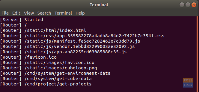 New Cube Terminal Will Be Opened