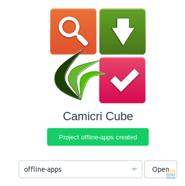 Offline Apps Created Successfully