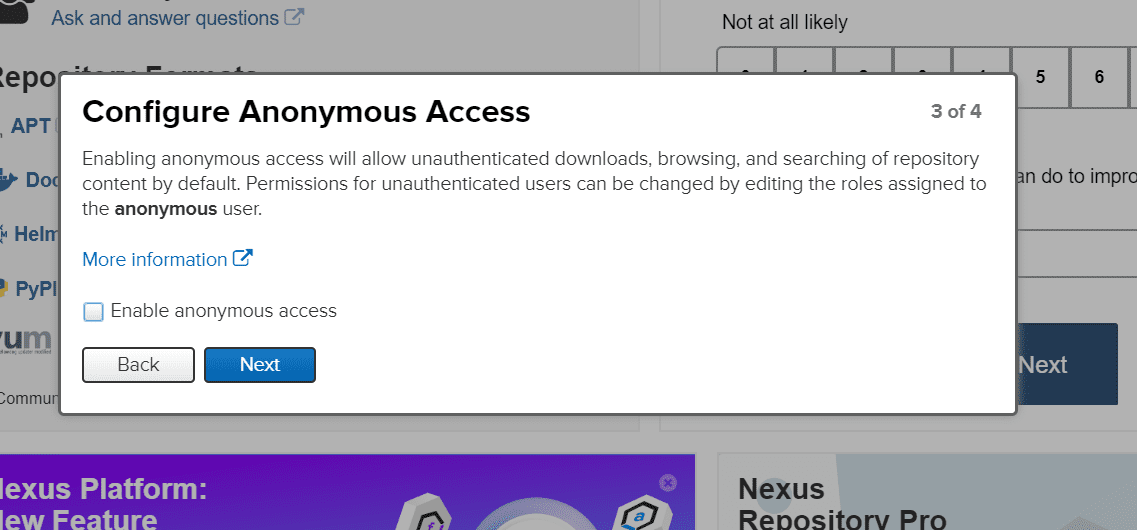 Anonymous Access