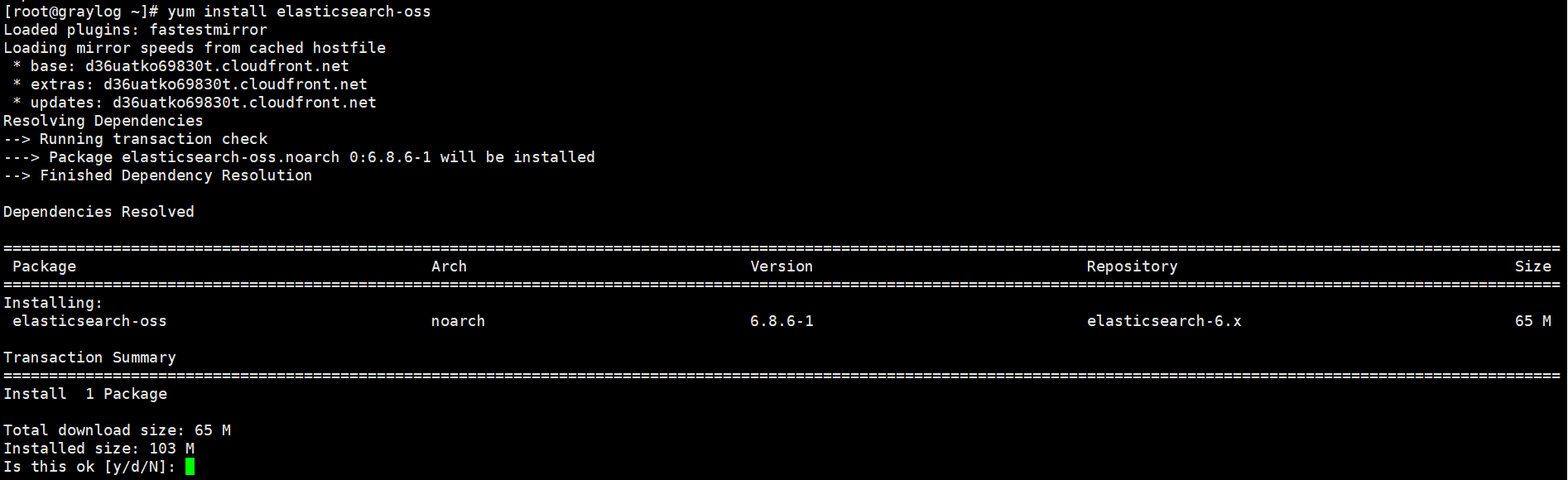 Install Elastic Search