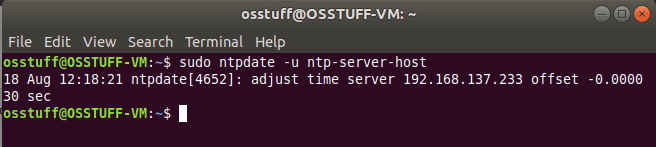 ntp-client-sync-from-NTP-Server