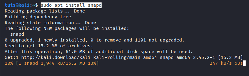 Install Snapd