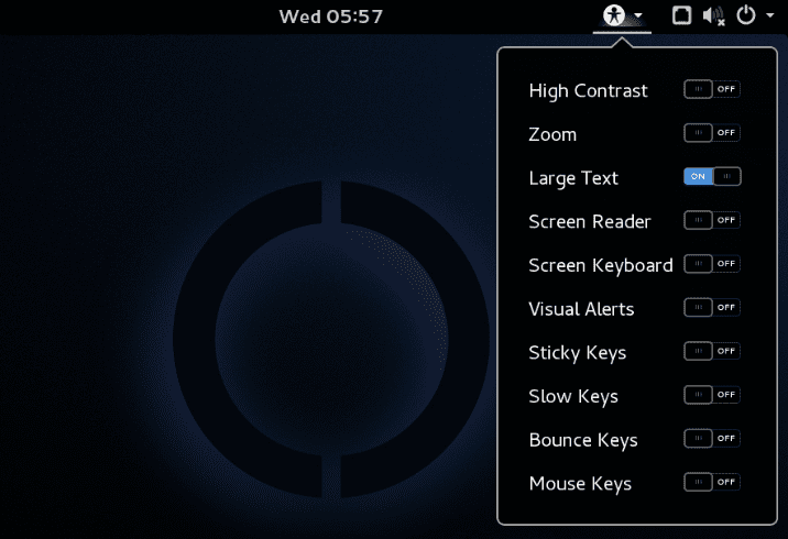 SteamOS Accessibility Toggles