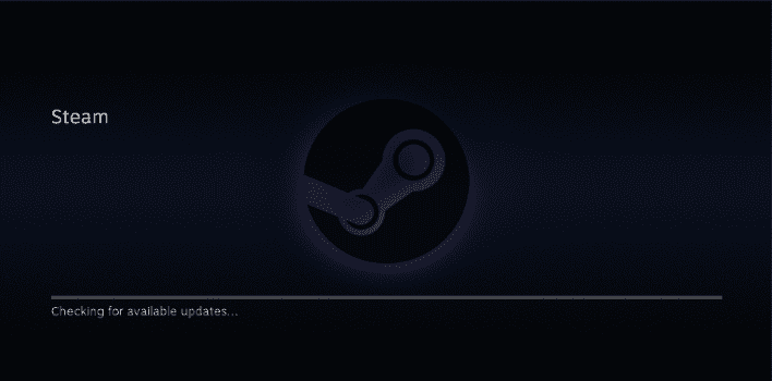 SteamOS Checking for Updates