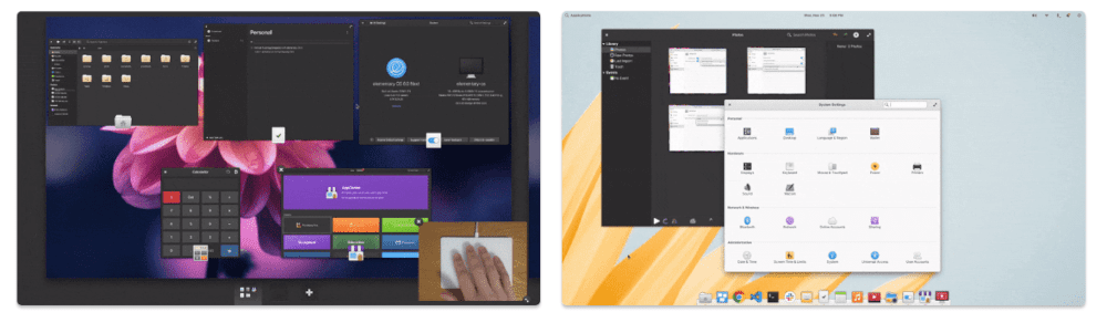 elementary os 6 odin multi touch