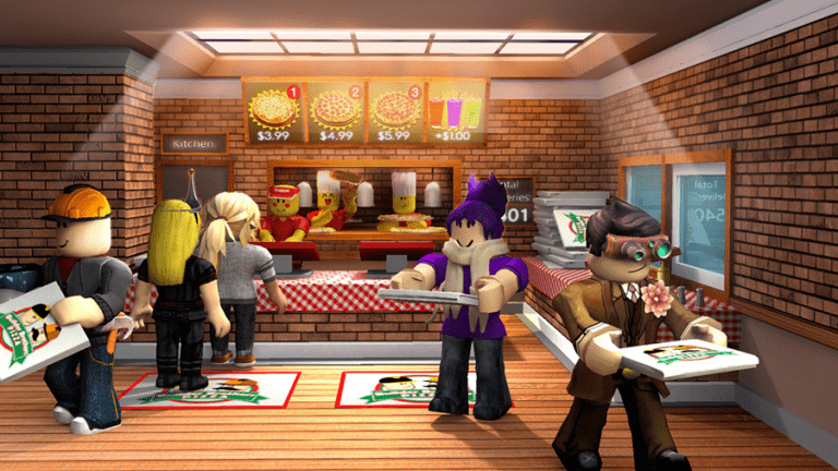 work in a pizza shop