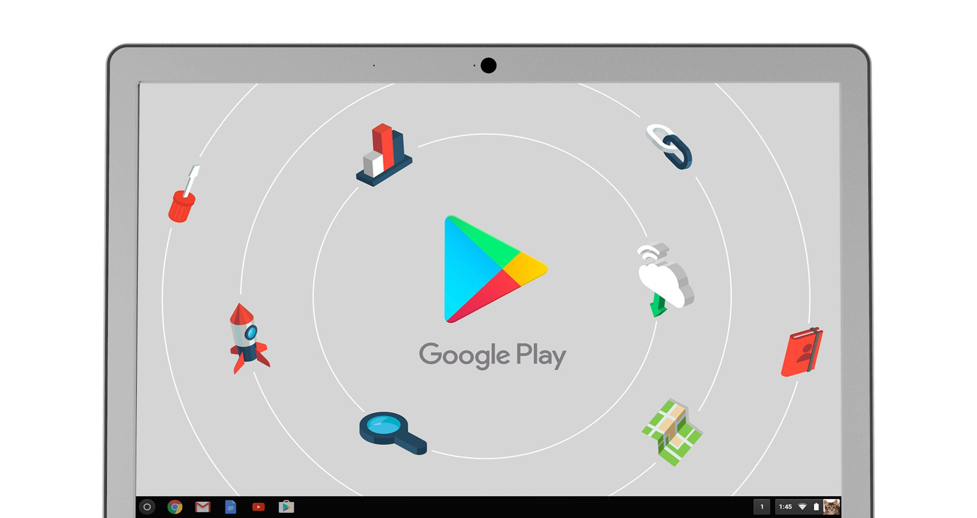 Chromebook 15 supports Google Play Store