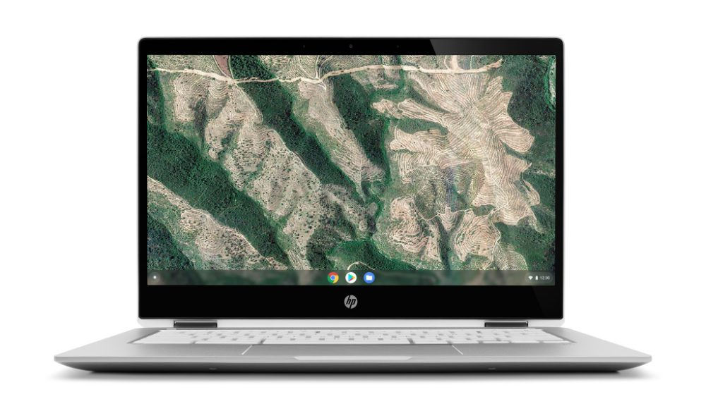 HP Chromebook x360 14-series Front