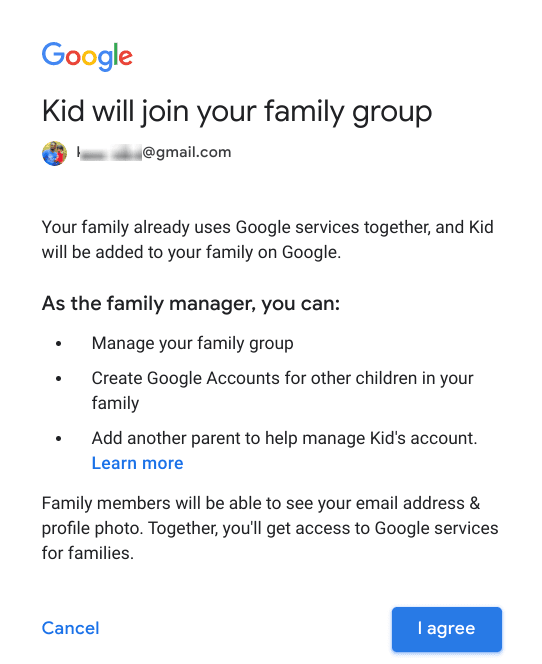 Family group