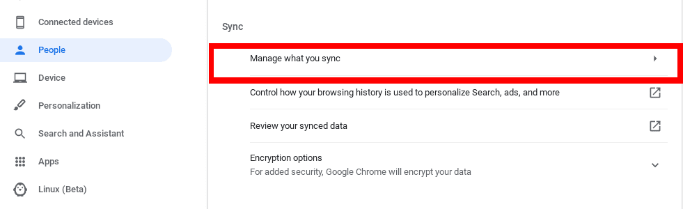 Manage your Syn