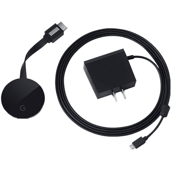 Chromecast Ultra with Power Supply
