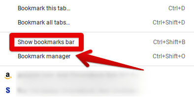 """Going to """"Bookmark Manager"""""""