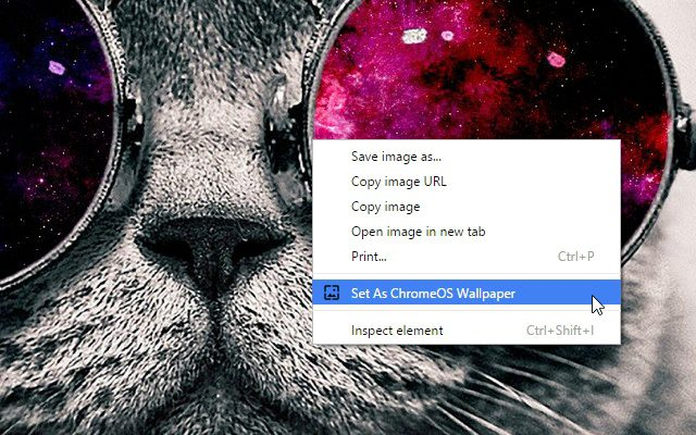 Image Setter For Chrome OS Wallpapers