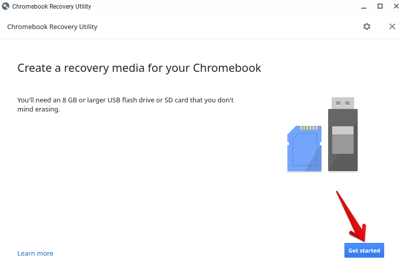 Getting Started With Chromebook Recovery Utility